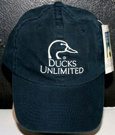 43f3cb5d1d9 DUCKS UNLIMITED SINCE 1937 EMBROIDERED CAP HAT Adult Size Adjustable