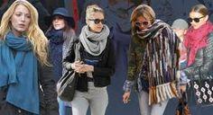 Cuellos para invierno para mujer. Cuellos de invierno 2016-2017. Cuellos para otoño. De lana, de algodón, de piel, de pelo, de ante...