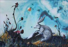 Reddhare Kangaroo, Fine Art, Animals, Random, Art, Colors, Baby Bjorn, Animales, Animaux
