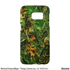 Natural Camouflage - Twigs, Leaves and Pinecones Samsung Galaxy S7 Case