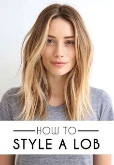 41 Lob Haircut Ideas For Women - How to Style a Lob or a Long Bob (Photos) -What is a lob? Step by step easy tutorials on how to cut your hair for a lob haircut and amazing ideas for layered, and straight lobs. Ideas for lobs with bangs, thick hair, wavy and thin hair. For long hair and medium hair. For round faces and sharp features - thegoddess.com/lob-haircut-ideas-women