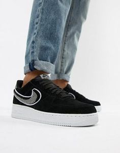 new style d31b1 cf9fb Looped  Mens streetwear trainers  ASOS. Nike Air Force 1  ...