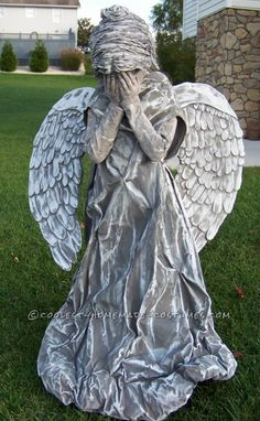 Amazing Cemetery Angel Costume ... This website is the Pinterest of costumes