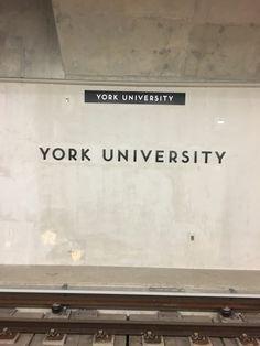York University Subway System York University