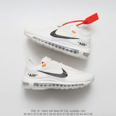 dc06c8c31f447 Fsr Nike Off White Air Max 97 The Ten Bullet Super Limited Edition Crossover