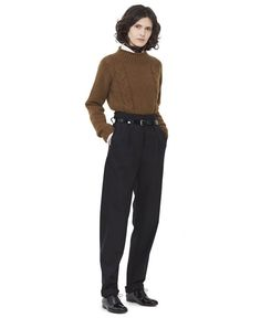 MARGARET HOWELL - CABLE ROLL NECK - KNITWEAR - WOMEN