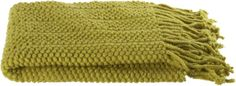 Marley Yellow Throw  | Crate and Barrel #s2d