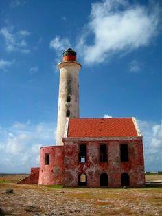 Klein Curazao, faro viejo de la isla caribeña, vale la visita.