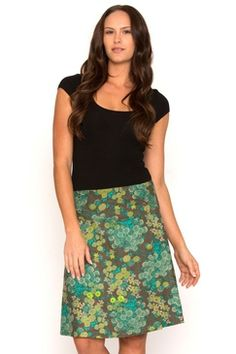 We're offering you the perfect summer collection of women's cotton fashion Chameleon, Cut And Style, Summer Collection, Cotton Fabric, Sequin Skirt, Vibrant, Turquoise, Clothes For Women, Grey