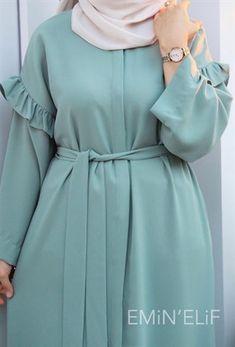 Modest Fashion Hijab, Korean Fashion Dress, Abaya Fashion, Fashion Dresses, Islamic Fashion, Muslim Fashion, Best Formal Dresses, Beautiful Pakistani Dresses, Mode Abaya