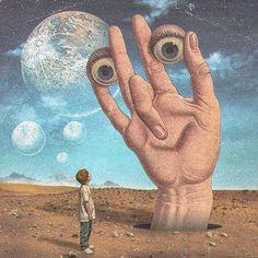 Art Zen, Psychadelic Art, Arte Horror, Hippie Art, Wow Art, Weird Art, Retro Futurism, Sci Fi Art, Surreal Art