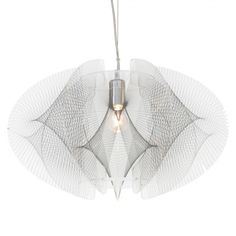 Spiro 1 Light Ceiling Pendant - Chrome from Litecraft