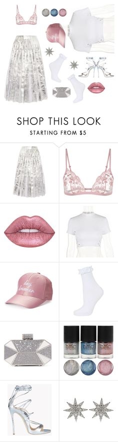 """it's yourz"" by ell-richards ❤ liked on Polyvore featuring Gucci, Lime Crime, madden NYC, Topshop, Halston Heritage, Dsquared2 and Bee Goddess"