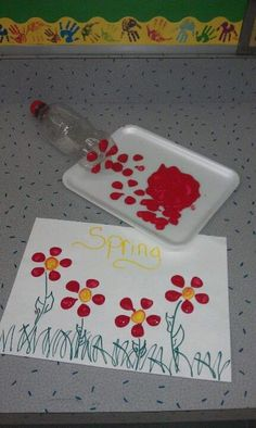 Spring Crafts for Kids / Preschoolers & Toddlers to make this season of new beginnings - . Spring Crafts for Kids / Preschoolers & Toddlers to make this season of new beginnings - Diy Spring Crafts For Kids, Diy For Kids, Spring Craft Preschool, Spring Crafts For Preschoolers, At Home Crafts For Kids, Flower Craft Preschool, Art Activities For Preschoolers, Crafts For Babies, Simple Kids Crafts