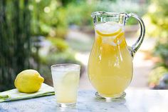 Simple and easy method for perfect lemonade every time! With simple syrup and fresh lemon juice.