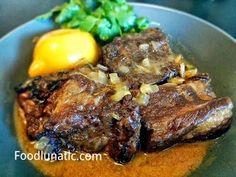 Food Lunatic: Braised Beef Greek Style by Marco Pierre White