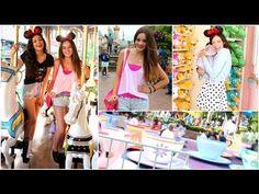 AmusementTheme Park Outfit ideas! Disneyland - http://www.box-of-fashion.com/amusementtheme-park-outfit-ideas-disneyland/