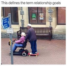 this defines the term 'relationship goals.'
