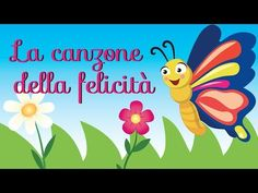 The Italian Song of Happiness Abc Songs, Kids Songs, Music For Kids, Yoga For Kids, Rhymes For Toddlers, Self Potrait, Born To Be Wild, Black Baby Girls, Canti