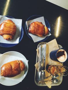Delicious cinnamon buns and coffee at the Nordic Bakery | Fitzrovia, London