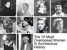 Looking back on architectural history, you could be forgiven for thinking that women were an invention of the 1950's,...