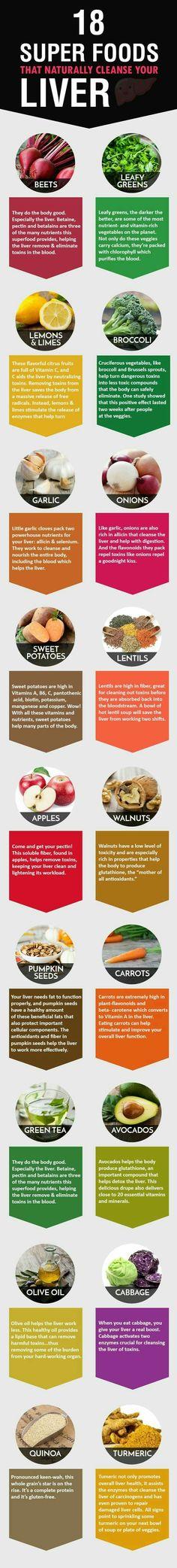 foods for liver