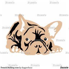 French Bulldog rose Statuette   Zazzle.com