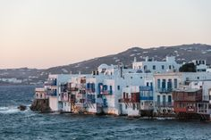 Glamorous front row seats to the thrill of Mykonos Town - Myconian Kyma Mykonos Town, Mykonos Island, King Of The Hill, Top Destinations, Front Row, San Francisco Skyline, New York Skyline, Waves, Lifestyle