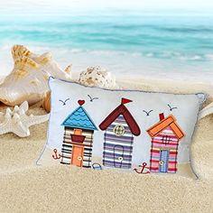 Amazon.co.uk: nautical cushions filled