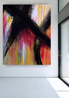 """""""Je Suis"""" a bold abstract painting focusing on simple shapes Simple Shapes, Contemporary, Abstract, Artist, Artwork, Painting, Summary, Work Of Art, Auguste Rodin Artwork"""
