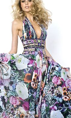 Zuhair Murad floral maxi dress