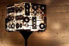 Kassetten Stehlampe