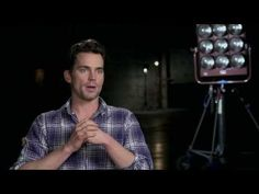 "Winter's Tale: Matt Bomer ""Young Man"" On Set Movie Interview - YouTube"