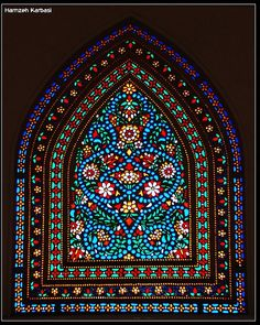 Abbasian House Iran - stained glass window