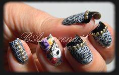 nail-art rock