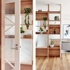 We have a joinery feature in our current issue. Some excellent solutions by (pictured) Beautiful Houses Interior, Beautiful Homes, Modern Interior Design, Interior Architecture, Minimal Apartment, Sala Grande, Living Room Interior, Wood Design, Joinery