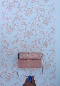 Symphony Scrolls Patterned Paint Roller and Applicator Set from NotWallpaper