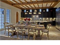 State of the art kitchen in this luxury home 346 Water St, Rosemary Beach, FL 32461 Kitchen Art, Kitchen Dining, Beach Kitchens, Outdoor Tables, Outdoor Decor, Rosemary Beach, Waterfront Homes, Custom Cabinetry, Beach Cottages