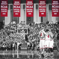 Love Our Hoosiers! Indiana Basketball, Basketball Uniforms, Basketball Teams, College Basketball, Sports Teams, Bobby Knight, Iu Hoosiers, University University, Thing 1