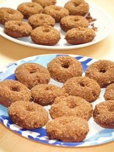 Mini-Schoko-Donuts (getreidefrei, glutenfrei, milchfrei, zuckerfrei)
