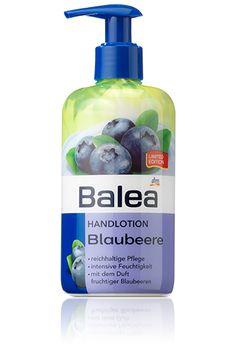 Balea Handlotion Blaubeere - pflegt und duftet wundervoll