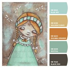 "Paint colors from Chip It! by Sherwin-Williams ""Simplicity Seeker"" ©dianeduda/dudadaze chipped"