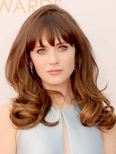 The all-time best celebrity bangs: If there was an after-school special about how to get full, lustrous bangs styled just so, Zooey Deschanel would both host and star in it
