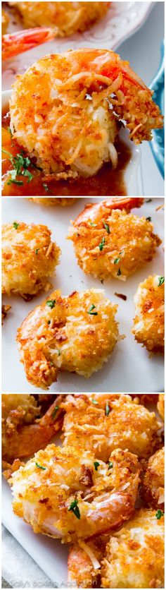 Easy Coconut Shrimp by sallysbakingaddiction #Shrimp #Coconut #Easy