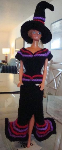 free pattern Ladyfingers - Barbie Witchie-Poo Costume #6 of 6