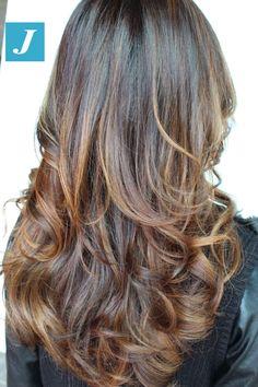 Very Natural _ Degradé Joelle #cdj #degradejoelle #tagliopuntearia #degradé #igers #musthave #hair #hairstyle #haircolour #longhair #ootd #hairfashion #madeinitaly #wellastudionyc