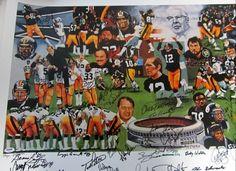 Terry Bradshaw, Lynn Swan, Mean Joe Green, Franco Harris, etc.    A Steelers fan living in the <3 of Steeler Nation!