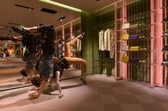 "PRADA, Paris, France, ""The Perfect Move"", The Iconoclasts, pinned by Ton van der Veer"