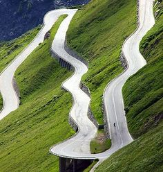 Furka Pass in Switzerland. Furka Pass is a high mountain pass in the Swiss Alps connecting Gletsch, Valais with Realp, Uri.