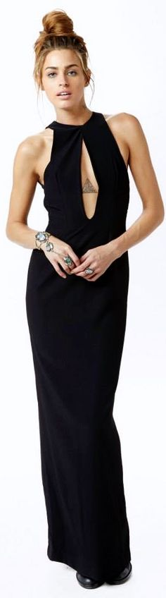 great black dress